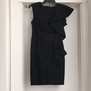 French Connection Sleeveless Ruffle Dress, Size 4